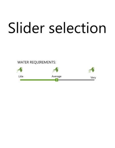 sliderselection